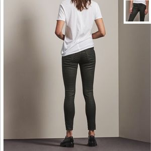 Ag Adriano Goldschmied Pants - Ag the ankle legging leather skinny jeans 27